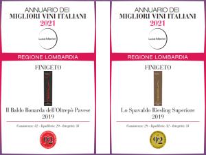 Annuario dei migliori vini italiani di Luca Maroni 2021 - Finigeto
