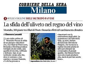 Corriere della Sera 26/11/2020 - Copertina
