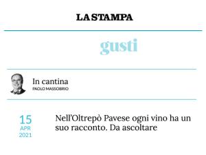 La Stampa 15/04/2021 - Copertina