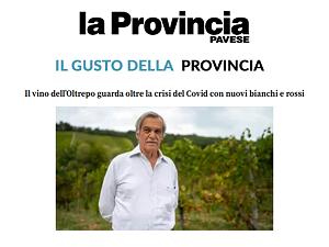 La Provincia Pavese (19/04/2021) - Copertina