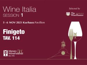 Wine Italia - The WineHunter Selection @ Merano Wine Festival (5-6 novembre 2021)